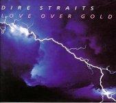 Dire Straits: Love Over Gold album cover