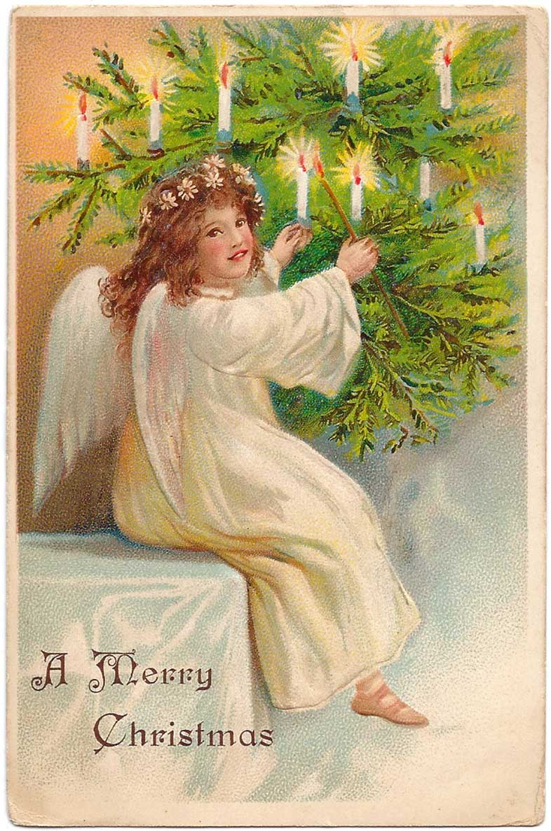 Free printable vintage christmas cards - Free Printable Christmas Cards From Antique Victorian To Modern Postcards