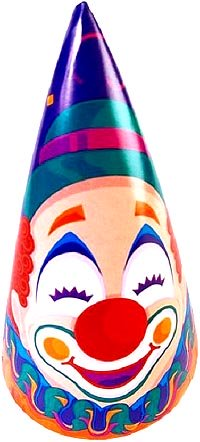 Picture of funny toy clown