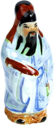 Funny Confucius Jokes - Chinese porcelain figurine
