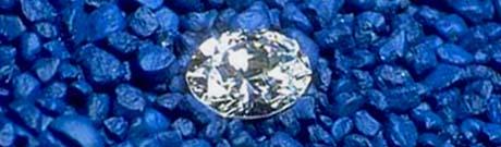 Delaware nickname: The Diamond State - picture of a diamond