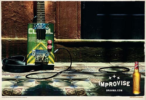 Brahma ads - Improvise - Electric guitar!