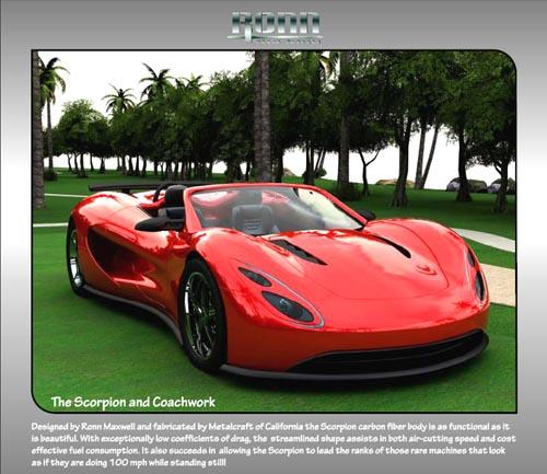 Attribution Ronn Motor, ronn-maxwell hydrogen car: Copyright Ronn Motor Co., Texas