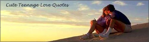 Cute Teenage Love Quotes - couple in love kissing on the beach in the sunset