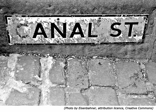 Funny street names: Anal Street or Canal Street!