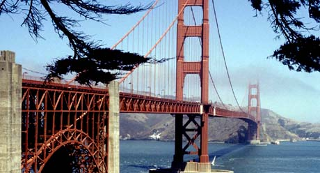 California, The Golden State - Golden Gate Bridge