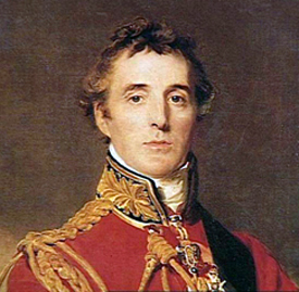 Lord Arthur Wellesley the Duke of Wellington - painting by Thomas Lawrence 1814