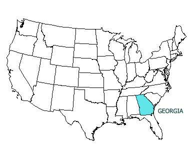 Georgia State Motto Nicknames And Slogans - Us map ga