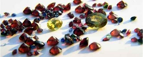 Idaho nickname: The Gem State - picture of gems