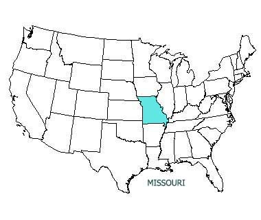 Missouri State Motto Nicknames And Slogans - Missouri On A Us Map
