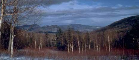 New Hampshire nickname: The White Mountain State - picture of the White Mountains