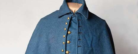 New Jersey nickname: The Jersey Blue State - picture of New Jersey Revolutionary War soldiers' blue uniforms