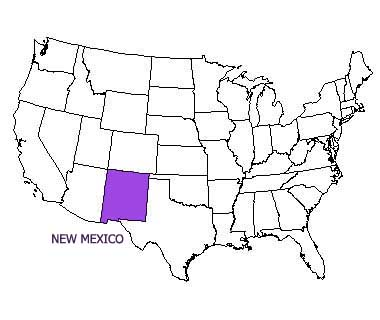 Usa Map New Mexico best of map of usa new mexico large size