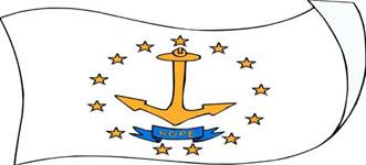 Rhode Island flag