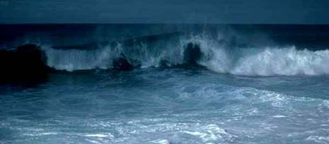 Rhode Island nickname: The Ocean state - picture of the sea