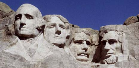 South Dakota: Mount Rushmore State - picture of The Mount Rushmore National Memorial