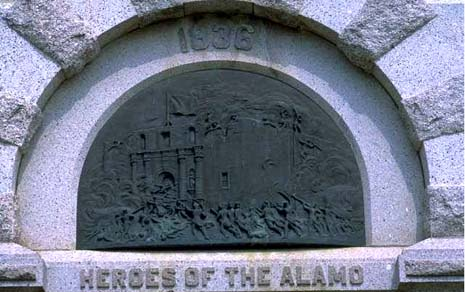 Texas nickname: Remember the Alamo