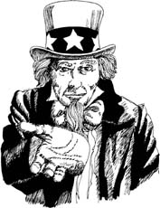 United States nickname: Uncle Sam