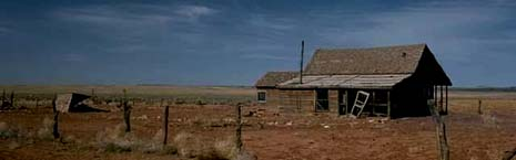 Utah old house
