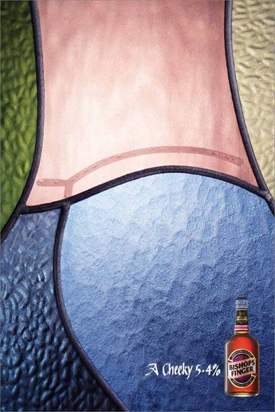 Bishops Finger beer ad.