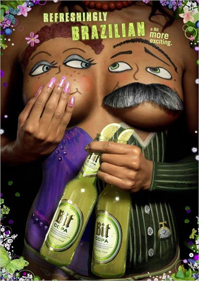 Great Bit Copa Ads - Refreshingly Brazilian! A bit More Exciting!