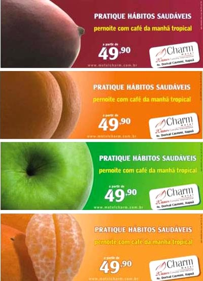 Funny condom commercial from Charm. Sexy fruit to fertilize your imagination ...