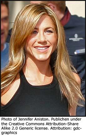 Photo of Jennifer Aniston (Rachel) from Friends