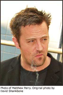 Friends quotes: Photo of Matthew Perry (Chandler)