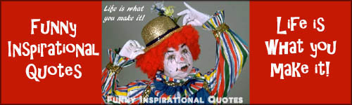 Funny Inspirational Quotes Clown With Hat Red Hair