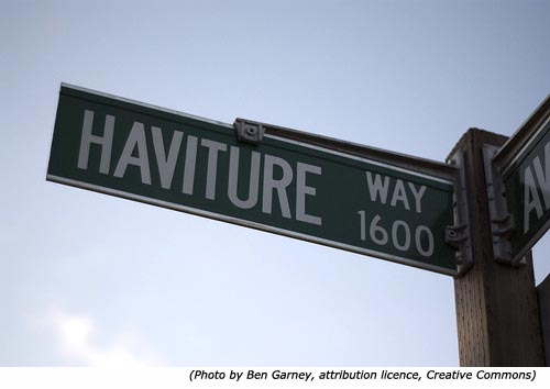 Funny street names: Haviture Way!