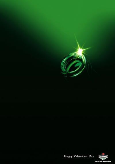 Great Heineken ad - rings on valentines day