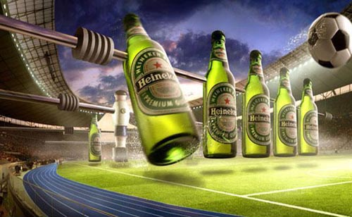 Heineken beer commercial - Table football - just great beer ads!