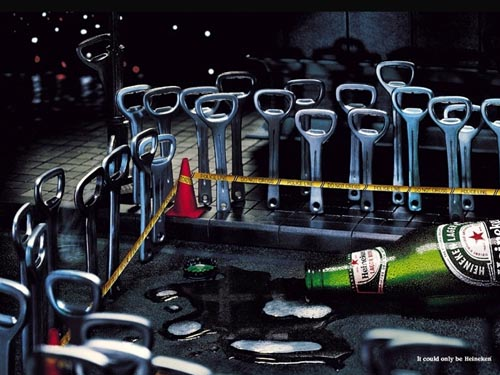 Heineken ads - crime scene - the best beer ads