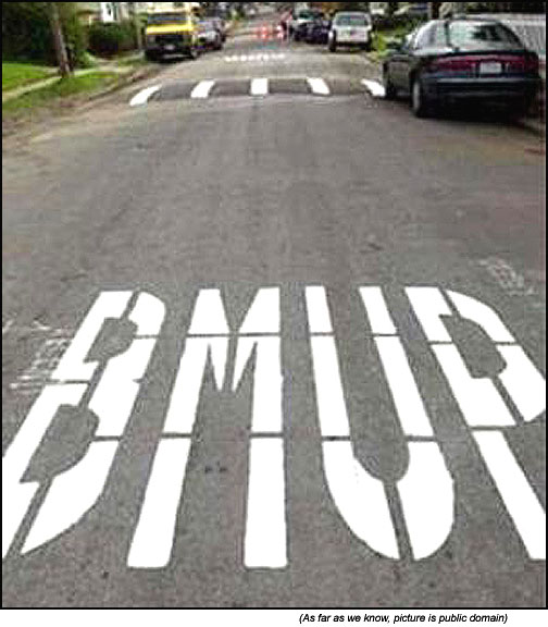Funny road signs BUMP (or not)