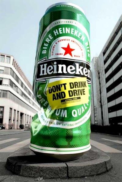 Heineken beer commercial - dont drink and drive
