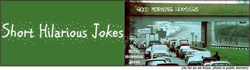 Short hilarious jokes - funny graffiti - good morning lemmings