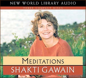 Spiritual quotes: photo of Shakti Gawain CD