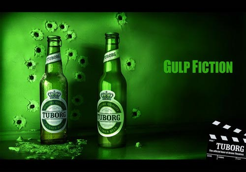 Tuborg ad - Gulp Fiction