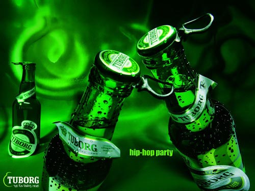 Fabulous Tuborg beer commercial - Hip hop party.