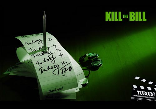 Tuborg beer commercial - Kill the Bill!