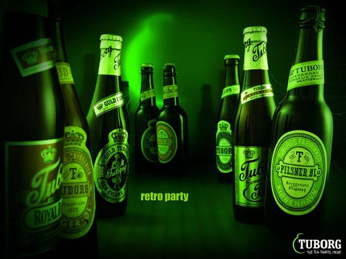 Tuborg ad - Retro Party.