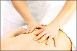 A good back massage.