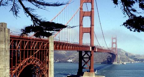 California, The Golden State - Golden Gate Bridge