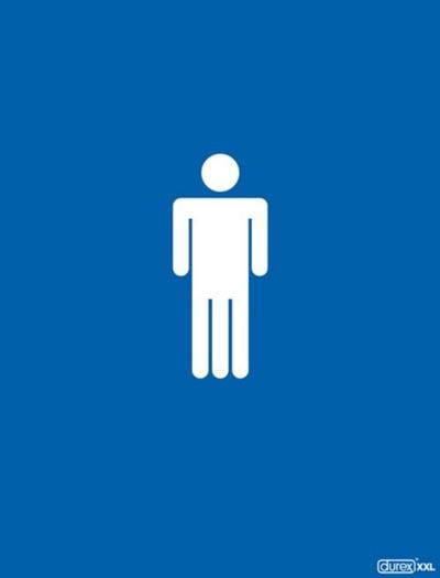 Durex commercial - white man three legs - durex xxl