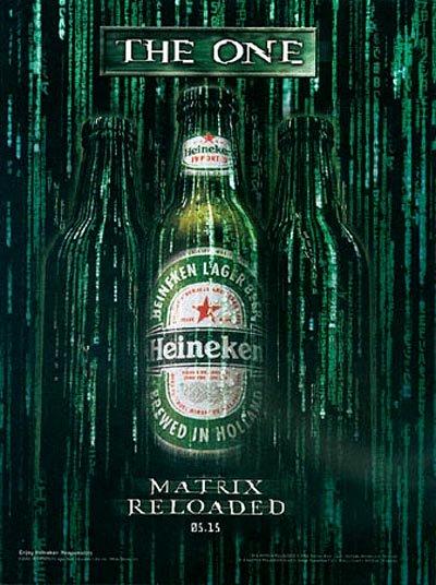 Heineken commercials - The one, The Matrix Reloaded - beer ads