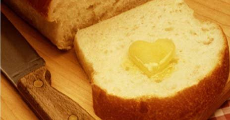 Minnesota nickname: The Bread and Butter State - picture of bread and butter