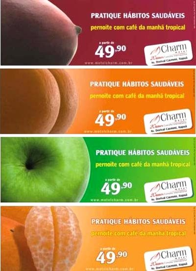 Funny condom commercial from Charm. Sexy fruit to fertilize your imagination. Fruit Flavoured.