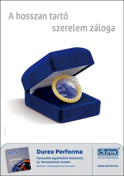 Durex funny commercial - condom ring in box
