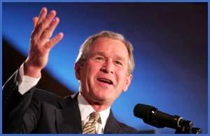 Photo of former President George W. Bush.