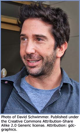 Photo of David Schwimmer (Ross)